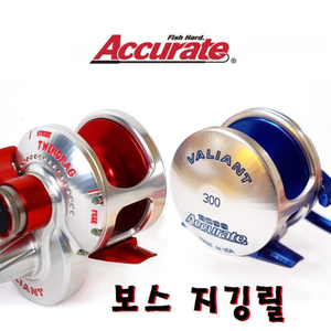 발리안트 Accurate BOSS Reel VALIANT 300 / BX-400XNBLS /BX-500XNBLS